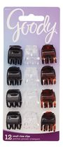 Goody Classics 3 Pronged Claw Clips - Assorted