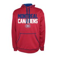 NHL Men's Montreal Canadians Impact Fleece Pullover Hoodie S