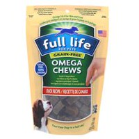 Full Life for Pets Omega Chews-Grain Free Duck Recipe for Dogs