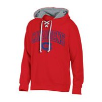 NHL Men's Montreal Canadiens Classic Fit Pullover Hoodie with Pockets M