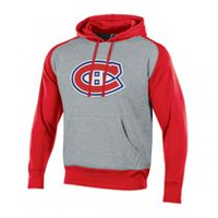 NHL Men's Montreal Canadiens Pullover Colourblock Hoodie XL