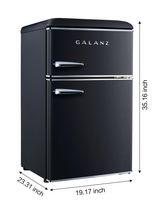 Galanz 3.1 cu ft Retro Fridge - image 3 of 8