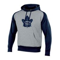 NHL Men's Toronto Maple Leafs Pullover Colourblock Hoodie L