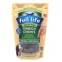 Full Life for Pets Omega Chews-Grain Free Chicken Recipe for Dogs