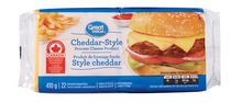Great Value Cheddar-Style Process Cheese Product