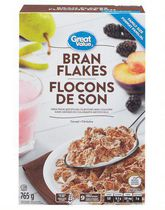 Great Value Bran Flakes Cereals