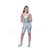 Girls Mini Pop Kids Shimmer T-Shirt