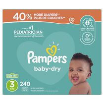 Pampers Baby Dry Diapers, Ultra Value Pack