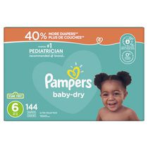Couches Pampers Baby-Dry, format Ultra Value