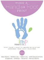 Imp Prints Purple Paint Swab