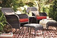 hometrends Tuscany 5-Piece Chat Set Red