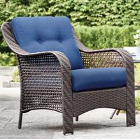 hometrends Tuscany Arm Chair Blue