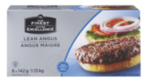 Our Finest Angus Beef Burgers