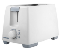 Black & Decker 2 Slice Toaster White