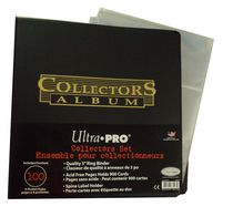 Ultra Pro Binder With 100Ct Pages