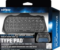 Clavier Type Pad de Nyko pour PlayStation 4