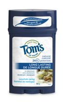 Tom's of Maine Mountain Spring Long-Lasting Wide Deodorant Stick