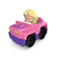 Fisher-Price Little People – Wheelies – Véhicule 4x4 – Rose