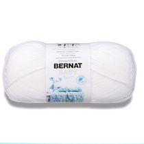 Bernat Baby Sport  Yarn, Baby White, 12.3oz(350g), Light, Acrylic