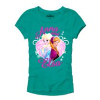 Girls Disney Frozen Short Sleeve Tee XS