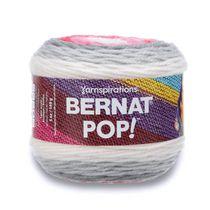 BERNAT POP! YARN (140G/4.9OZ), LIPSTICK ON YOUR COLLAR