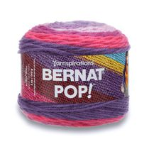 BERNAT POP! YARN (140G/4.9OZ), VIOLET VISION