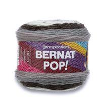 BERNAT POP! YARN (140G/4.9OZ), EBONY & IVORY