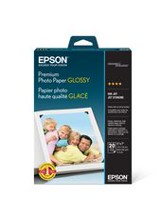 Epson 5 x 7 inch 20 Sheet Premium Photo Paper Glossy