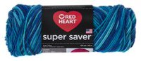 Red Heart Supersaver Yarn Macaw