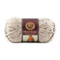 Lion Brand Yarn Wool Ease Thick & Quick Oatmeal 640-123 Classic Bulky Yarn
