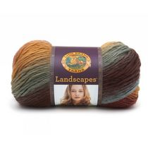Lion Brand Yarn Landscapes Desert Spring 545-204 Fashion Yarn