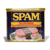SPAM 25% Less Sodium Fully Cooked Luncheon Meat