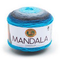 Lion Brand Yarn Mandala Spirit 525-212 Classic Cake Yarn