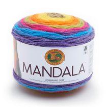 Lion Brand Yarn Mandala Gnome 525-209 Classic Cake Yarn