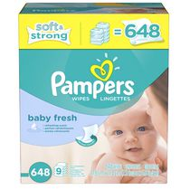 Pampers Baby Wipes Baby Fresh 9X Pack