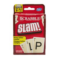 Hasbro Gaming Scrabble Slam Card Game English Version