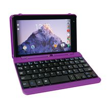 "RCA 7"" 16GB Android Tablet with Keyboard Purple"
