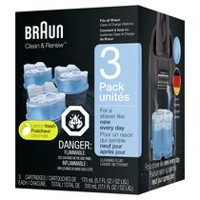 Braun Clean & Renew Cart Shaver Refills