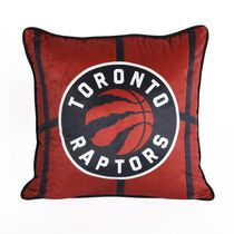 NBA Toronto Raptors Basketball Throw Pillow (18 x 18 in), Red
