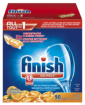 Finish All In 1 Gel Pacs- Orange