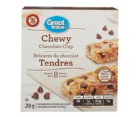 Great Value Chewy Chocolate Chip Granola Bars