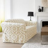 SureFit™ Chelsea Relaxed Fit Sofa Slipcover Ivory