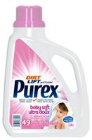 Purex Dirt Lift Action Baby Soft 2.26L/ 49 loads