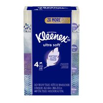 Mouchoirs Kleenex Ultra Soft, paquet de 4