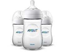Philips Avent - Natural Baby Bottle 9oz/260mlSlow flow nipple1m+