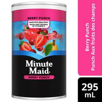 Minute Maid Berry Punch Frozen Concentrate 295 mL can
