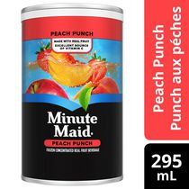 Minute Maid Peach Punch Frozen Concentrate 295 mL can