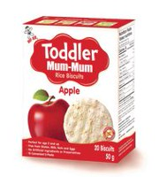 HOT-KID TODDLER MUM-MUM POMME BISCOTTES DE RIZ