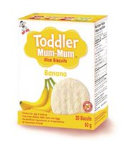 Hot-Kid Toddler Mum-Mum Banana Rice Biscuit
