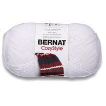 BERNAT COZY STYLE YARN (454G/16OZ), WHITE
